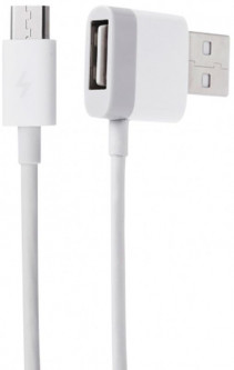Кабель Xiaomi ZMI USB cable 2 in 1 USB + micro USB 1.2m White