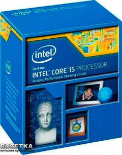 Процессор Intel Core i5-4460 3.2GHz/5GT/s/6MB (BX80646I54460) s1150 BOX