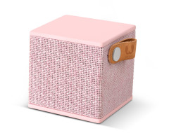 Fresh 'N Rebel Rockbox Cube Fabriq Edition Bluetooth Speaker Pink (1RB1000CU)