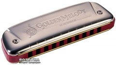 Губная гармошка Hohner Golden Melody G