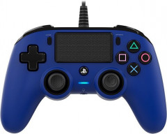 Nakon Wired Compact Controller PS4 Blue