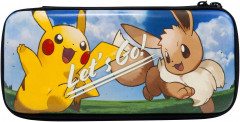 Pokemon Hard Pouch for Nintendo Switch Let's Go! Pikachu & Let's Go! Eevee