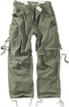 Чоловічі карго штани Surplus Vintage Fatigue Trousers Oliv Gewas
