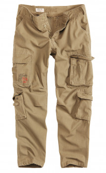 Чоловічі карго штани Surplus Airborne Slimmy Trousers Beige Gewas