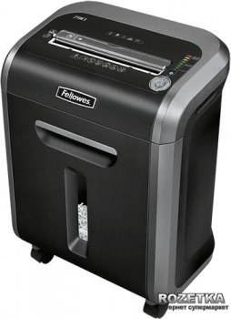 Шредер Fellowes 79Ci 14 аркушів 3.9х38 мм 23 л (f.U4679001/9004)