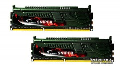 Оперативная память G.Skill DDR3-2133 8192MB PC3-17000 (Kit of 2x4096) Sniper Series (F3-2133C10D-8GSR )