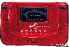 Тюнер Fender AG6 Tuner Sparkle EXP II Red (68924)