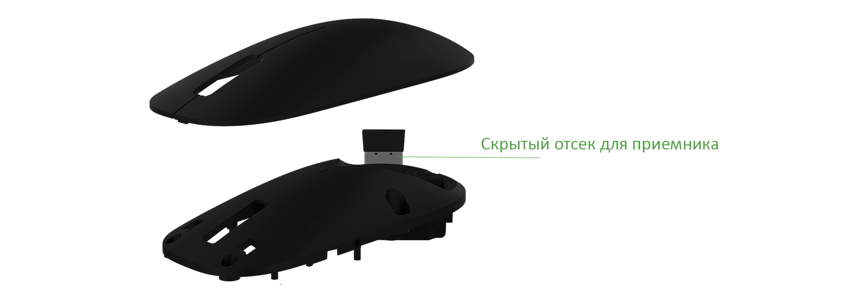 Мышь Xiaomi Mi Mouse 2 Black (WSB01TM_B)