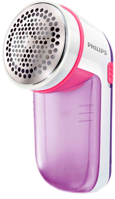 Машинка для стрижки катышков PHILIPS Fabric Shaver GC026/30 Pink