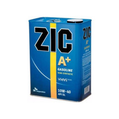 Моторное масло ZIC A+ 10W-40 (4 л.)