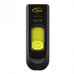 USB флеш накопитель 32Gb Team C145 USB 3.0 (TC145332GY01) Yellow