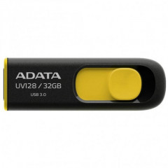 USB флеш накопитель 32Gb A-Data UV128 (AUV128-32G-RBY) Black/Yellow