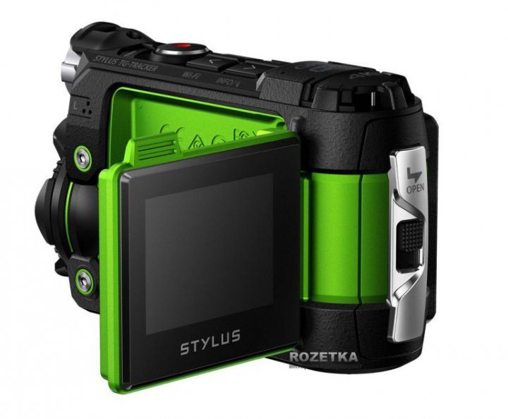 Olympus показала экшн-камеру Stylus Tough TG-Tracker с поддержкой 4К